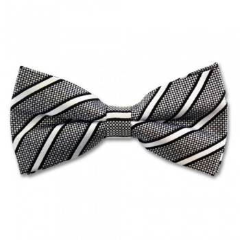 Black and White Bow Tie